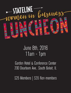 Stateline Women in Business Luncheon @ Garden Hotel and Conference Center