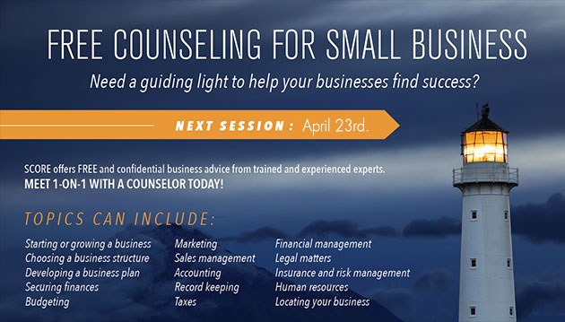 SCORE Business Counseling
