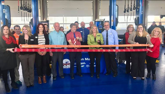 Bryden Motors Express Lube Ribbon Cutting