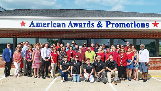 American Awards & Promotions Ribbon Cutting